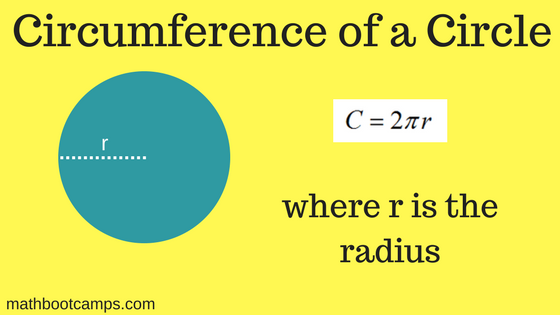 The Circumference Of A Circle Mathbootcamps