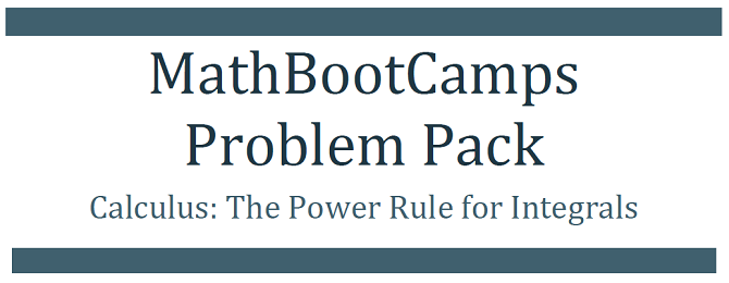 Courses and Downloads - MathBootCamps